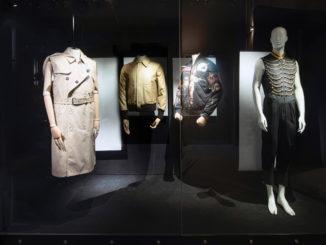 """Photographie de l'exposition """"Masculinities"""", Musée Mode & Dentelle, Bruxelles, 2020."""
