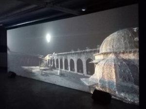 Photo de l'expo Alep, Villa Empain, 2020