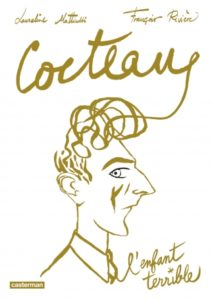 Couverture de la BD « Cocteau, l'enfant terrible » (Casterman, 2020)