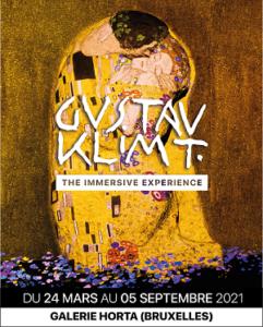 Affiche de l'expo Klimt, the Immersive Experience (2021)