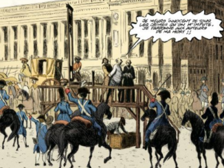 Extrait de la BD Le peintre hors-la-loi de Frantz Duchazeau (Casterman, 2021)