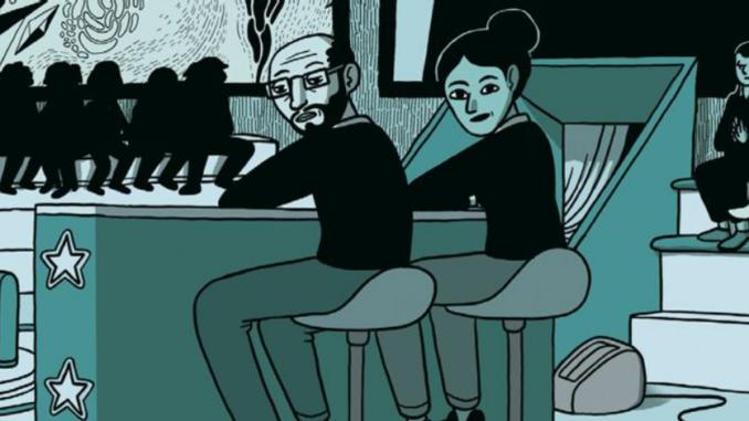 Extrait de la BD « Le spectateur » de Théo Grosjean (Soleil, 2021)