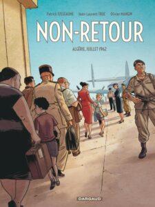 Couverture de la BD « Non-Retour » (Dargaud, 2021)