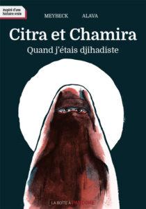 Couverture de la BD « Citra et Chamira » (La Boîte à Pandore, 2021)