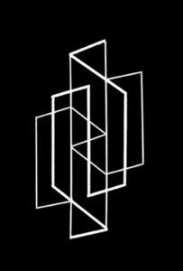 Roger Vilder, Ambiguïté géomatrique 2, 2007 © Roger Vilder.