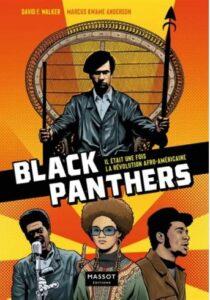 Couverture de la BD Black Panthers (Massot éditions, 2021)
