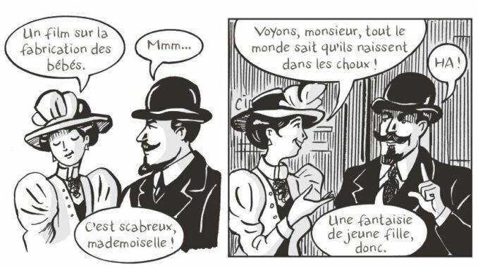 Extrait de la BD « Alice Guy » (Casterman, 2021)