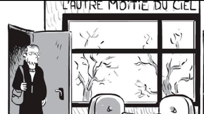 Extrait de la BD « À la maison des femmes » de Nicolas Wild (Delcourt / Encrages, 2021)