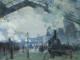 Claude Monet, Arrivée du train de Normandie, gare Saint-Lazare, 1877 (détail). © 2021. The Art Institute of Chicago / Art Resource, NY/ Scala, Florence.