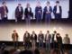 Les membres du Jury Longs Métrages lors du Gala d'ouverture le 14 octobre avant la projection en avant-première du film « Les Illusions perdues »